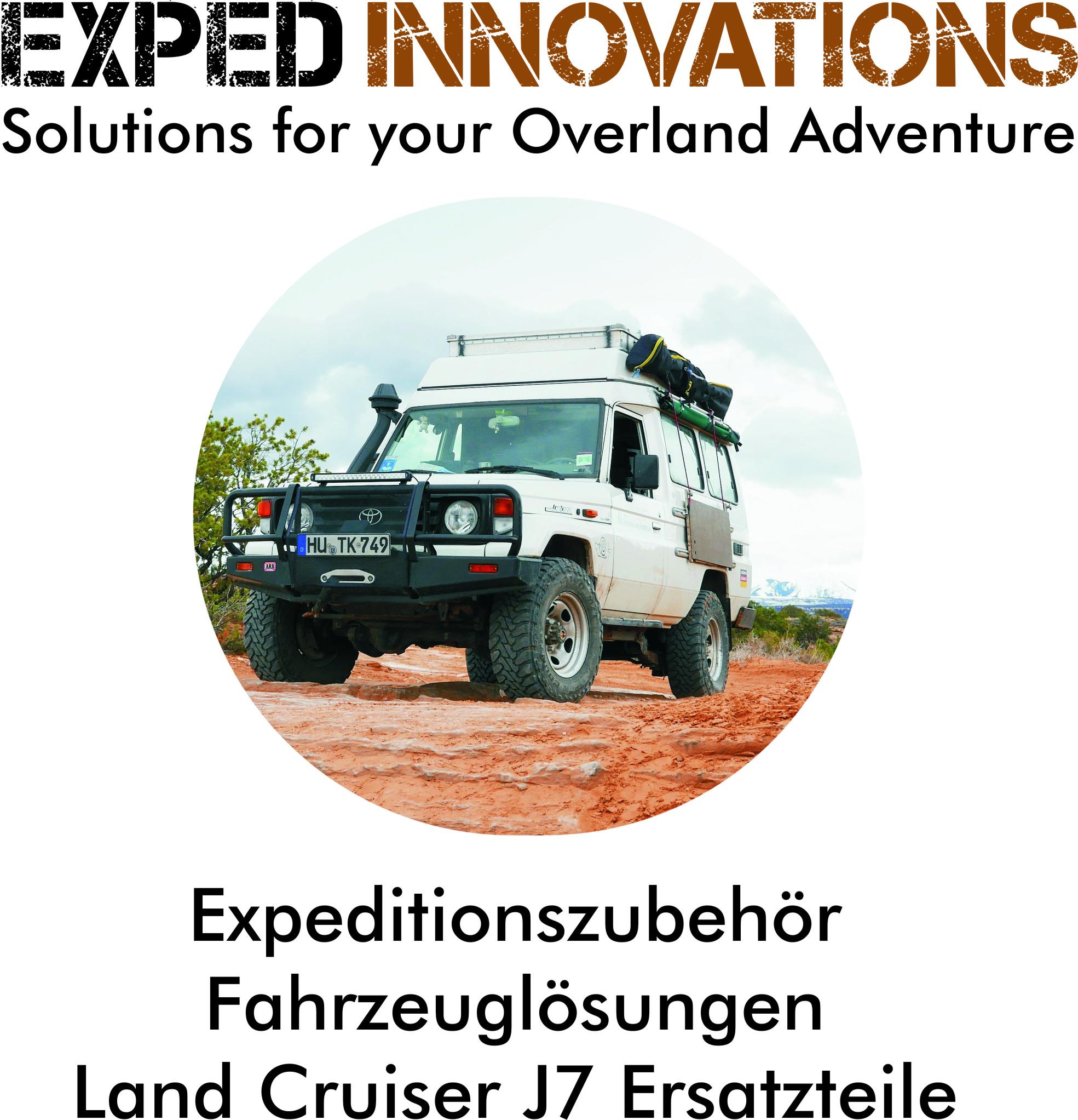 Exped Innovations - Expeditionszubehör, Fahrzeuglösungen & Ersatzteile
