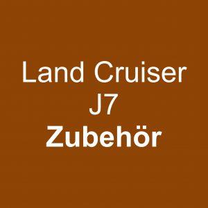 Land Cruiser J7 Zubehör