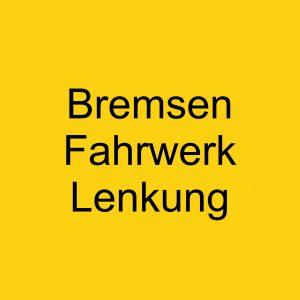 Bremsen / Fahrwerk / Lenkung